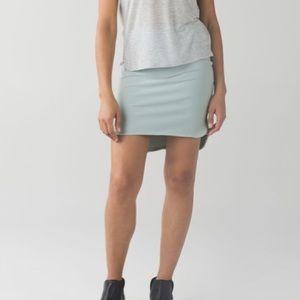 🆕item Lululemon city skirt minty gray